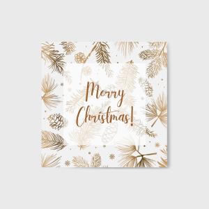 Merry Christmas képeslap