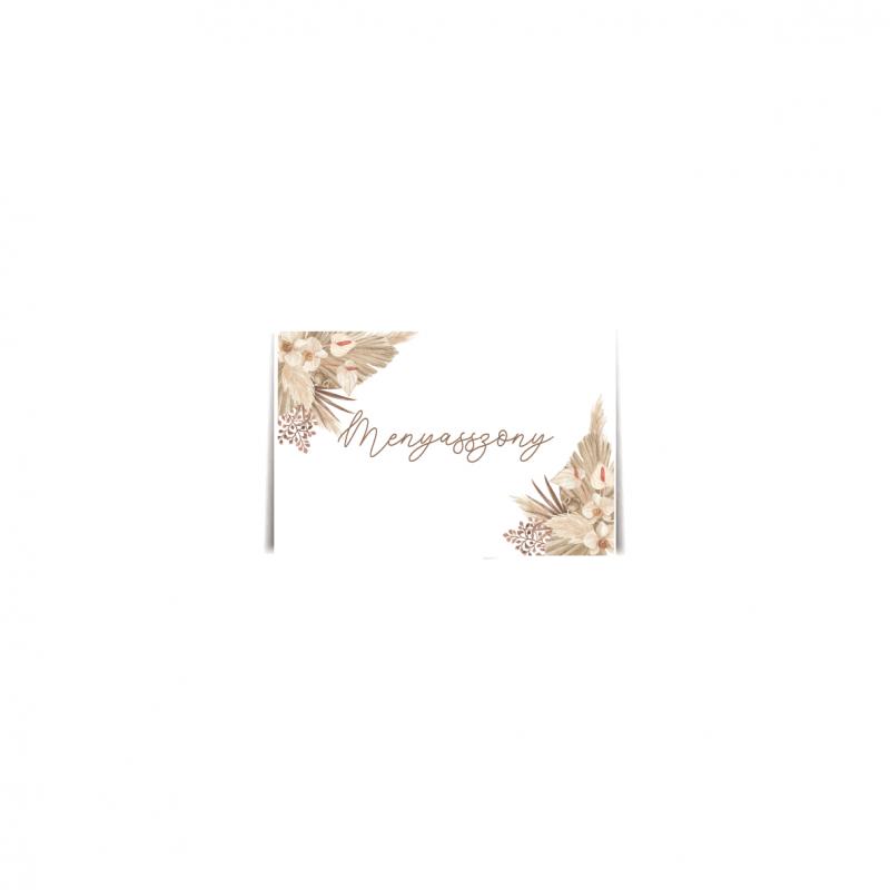 Driedflower ültetőkártya