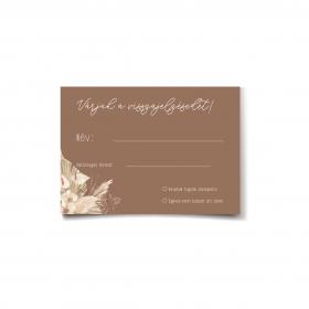 Driedflower visszajelző kártya