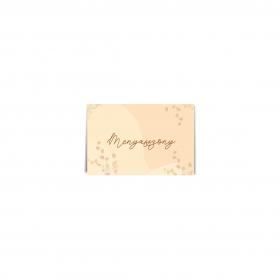Erdei virág ültetőkártya